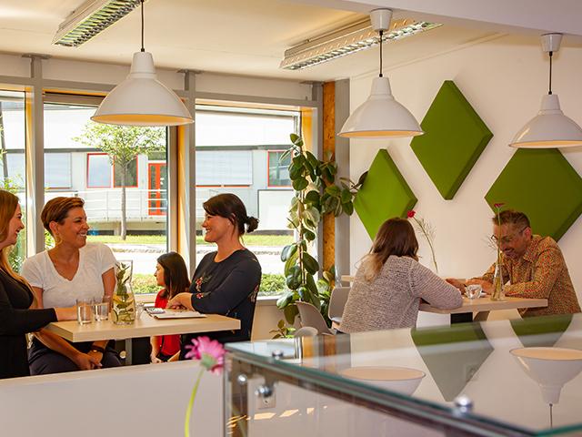 Kulinarik im nachhaltigen Büroservice-Center