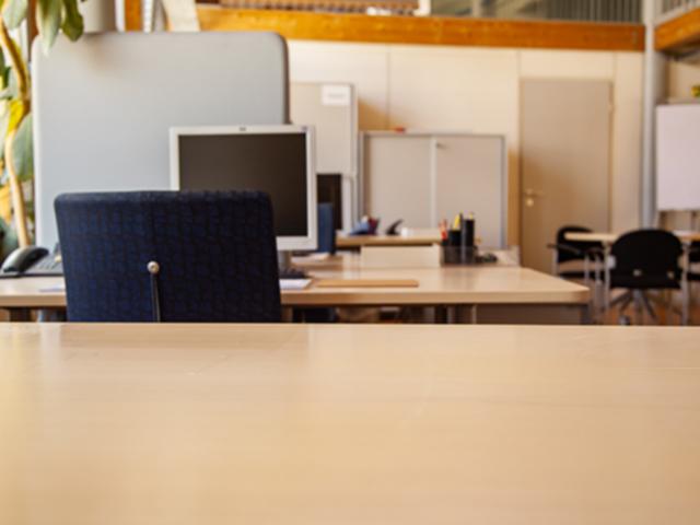 Räume im nachhaltigen Büroservice-Center